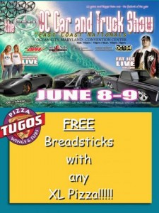 OC Car & Truck Show Special Pizza Tugos Ocean City MD