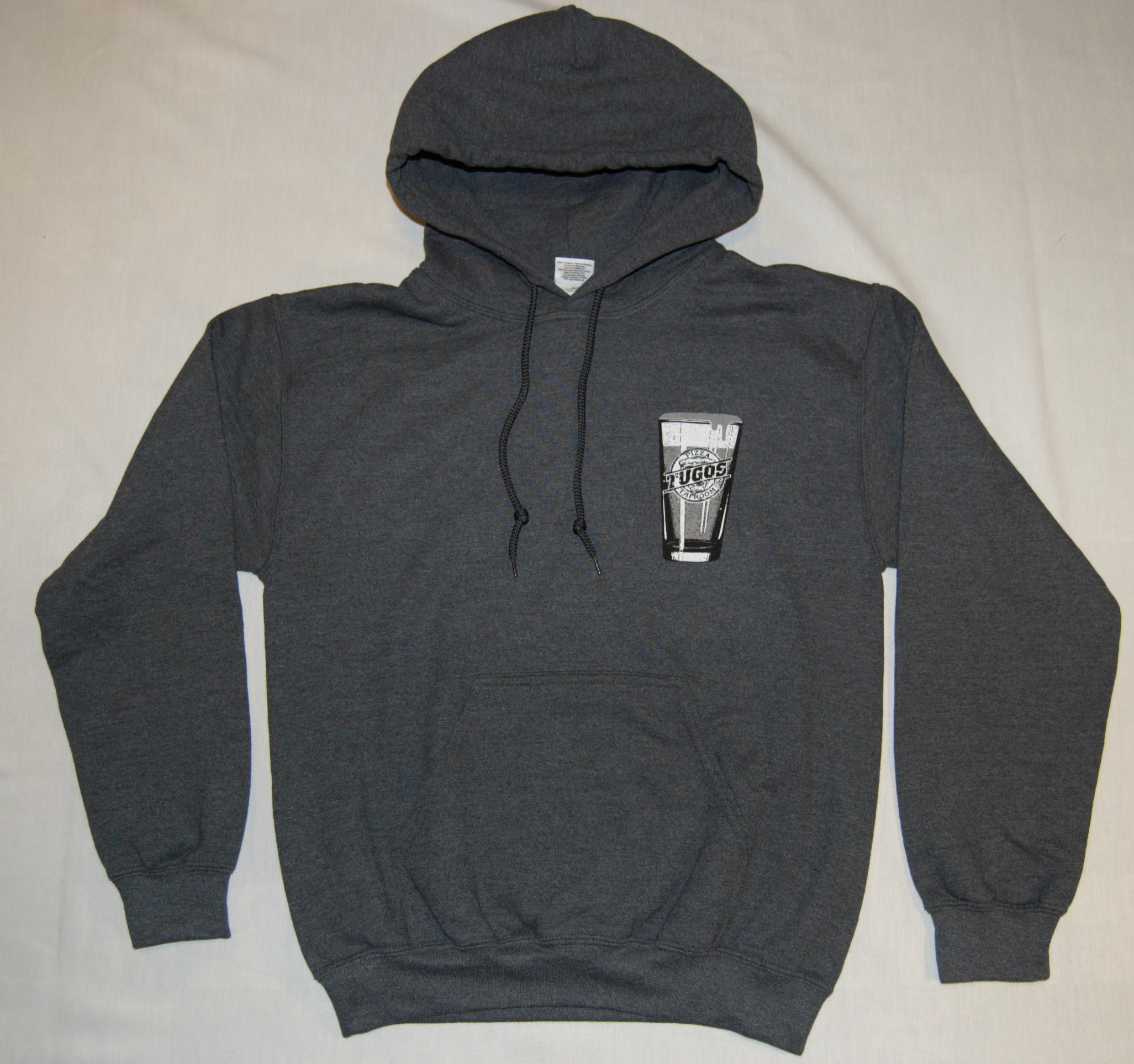 Tugos Hoodie Heather Blue Front