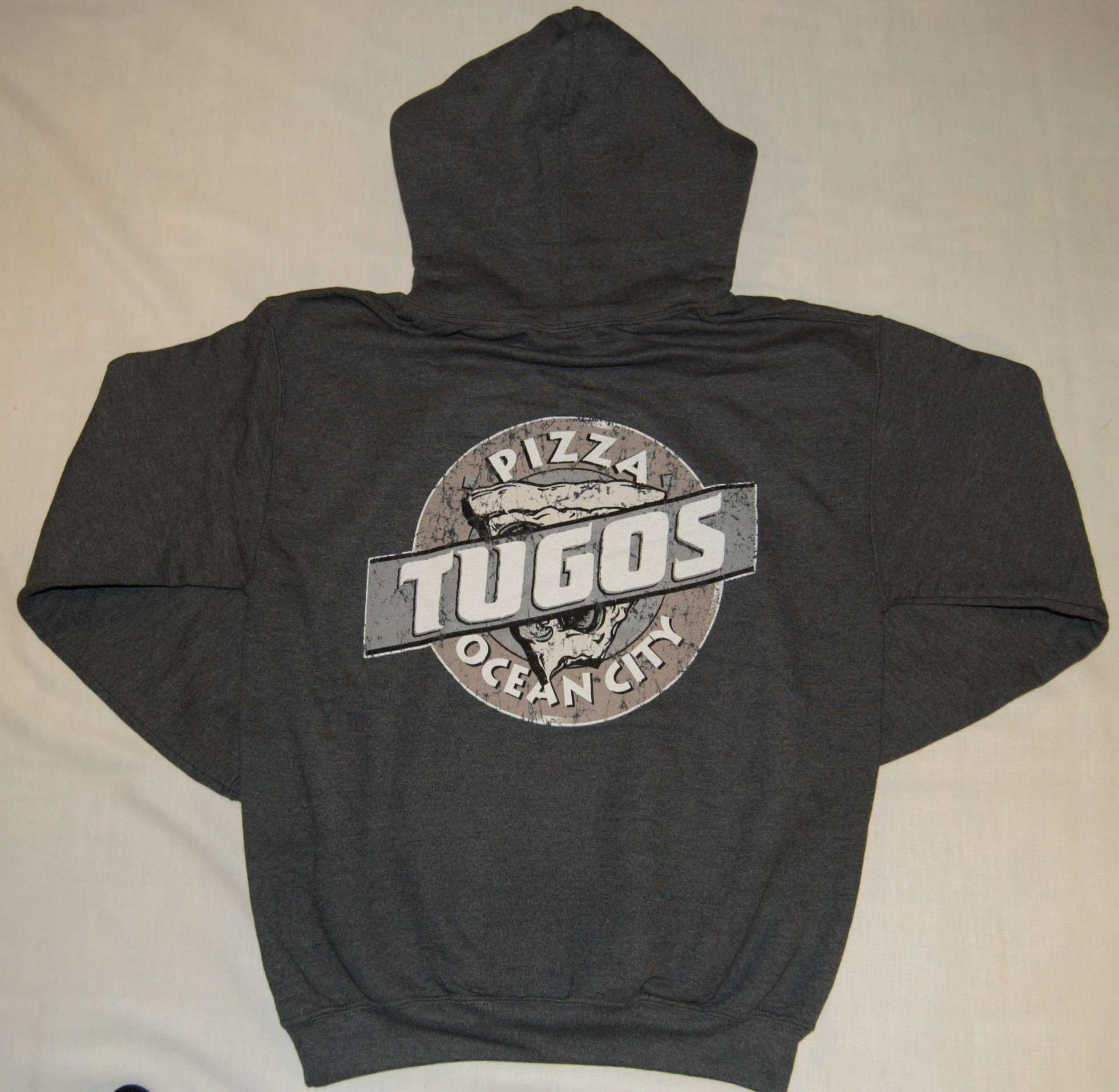 Tugos Hoodie Heather Blue