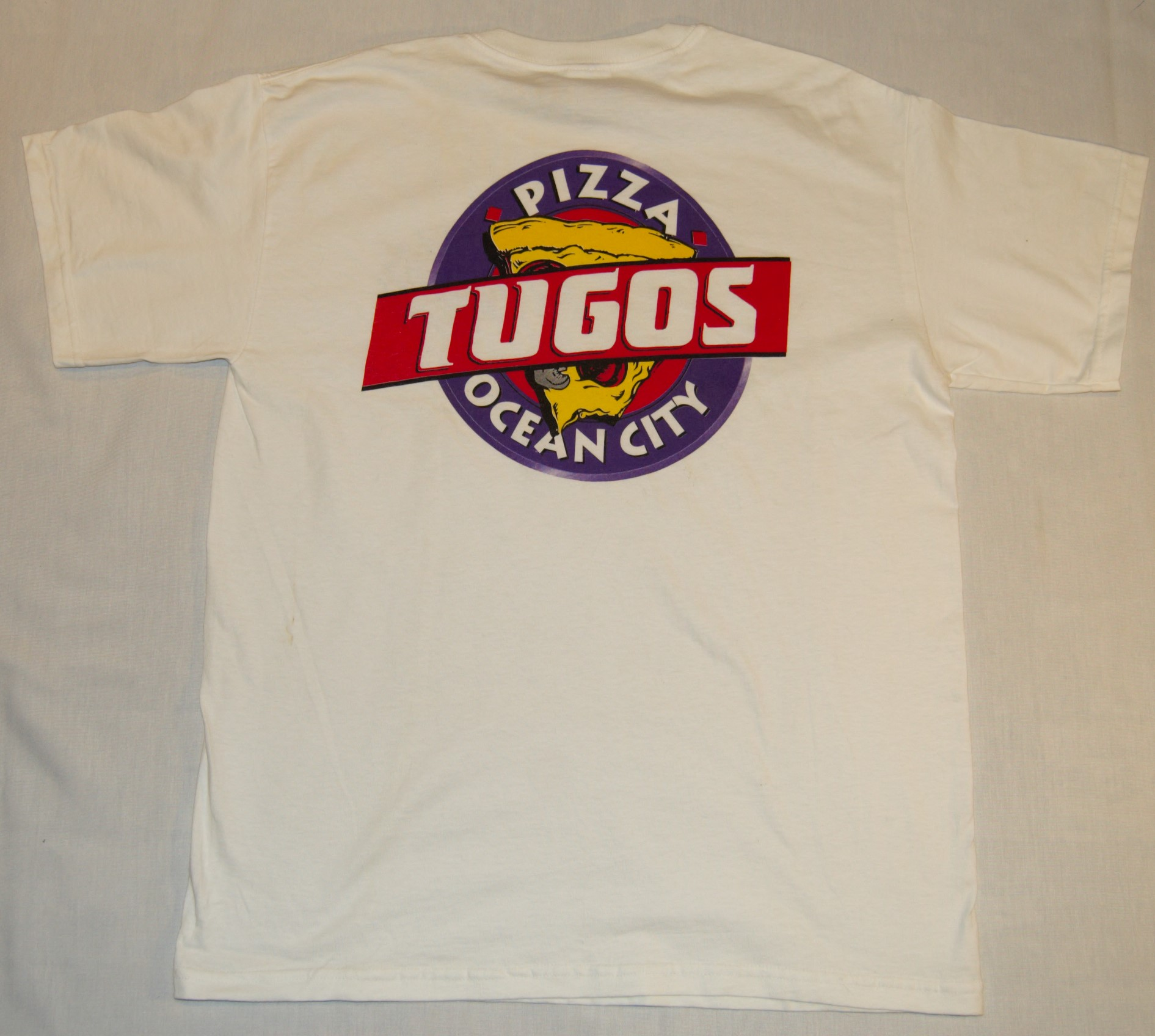Pizza Tugos Classic Shirt Back