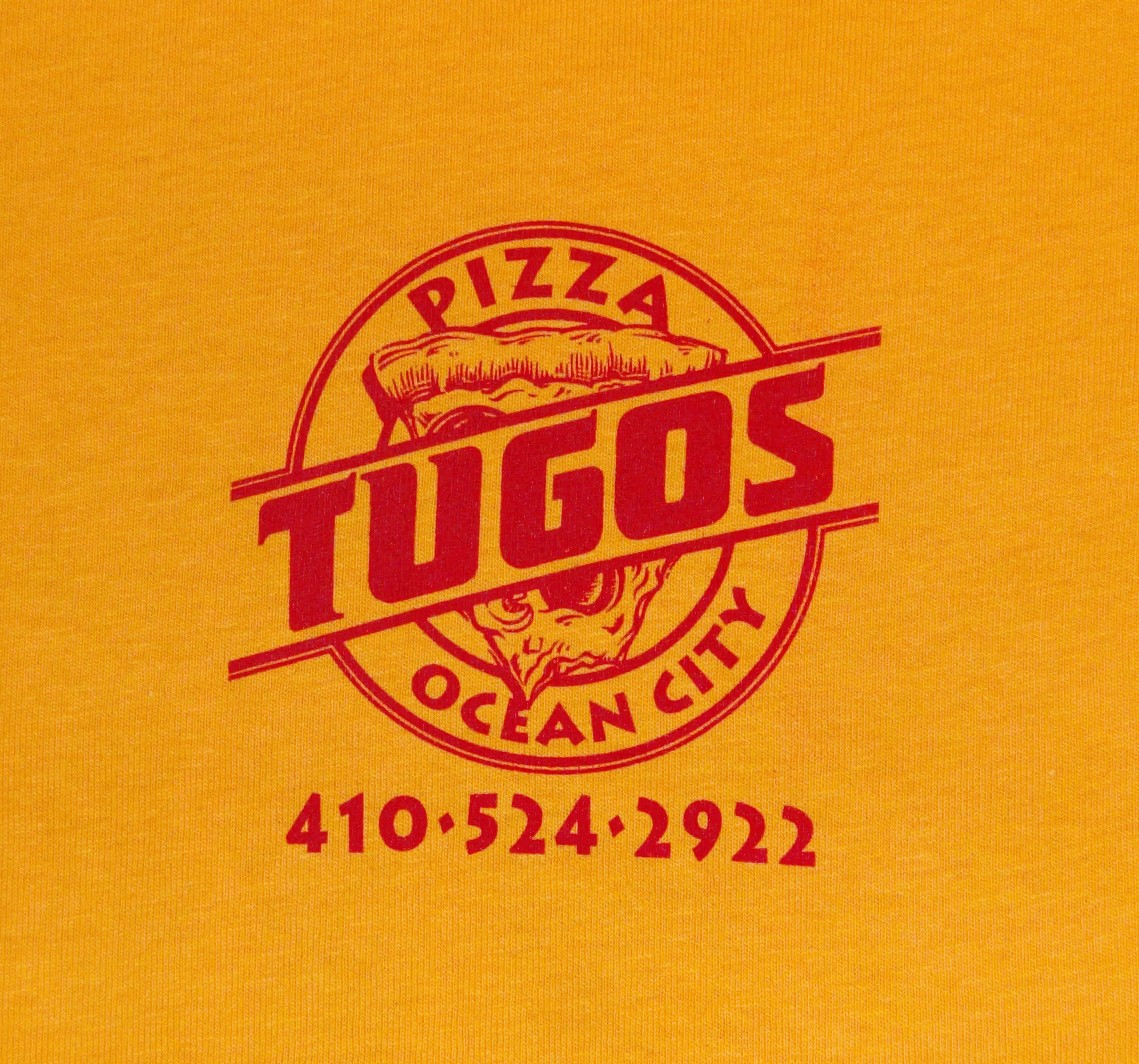 Pizza Tugos Crew Shirt Front