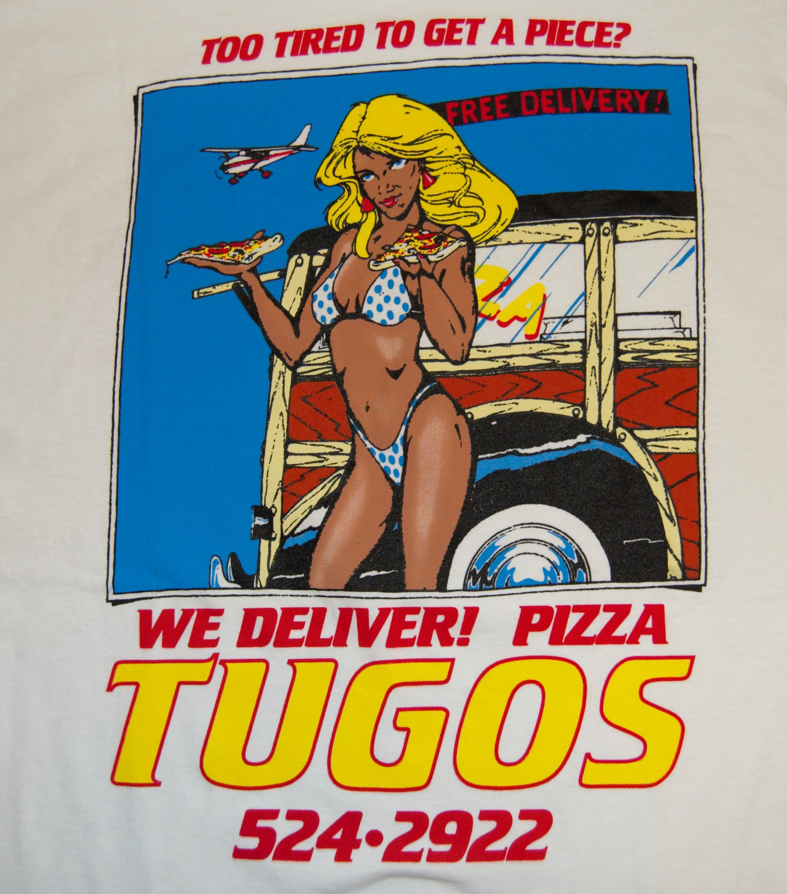 Tugos Delivery Shirt Back