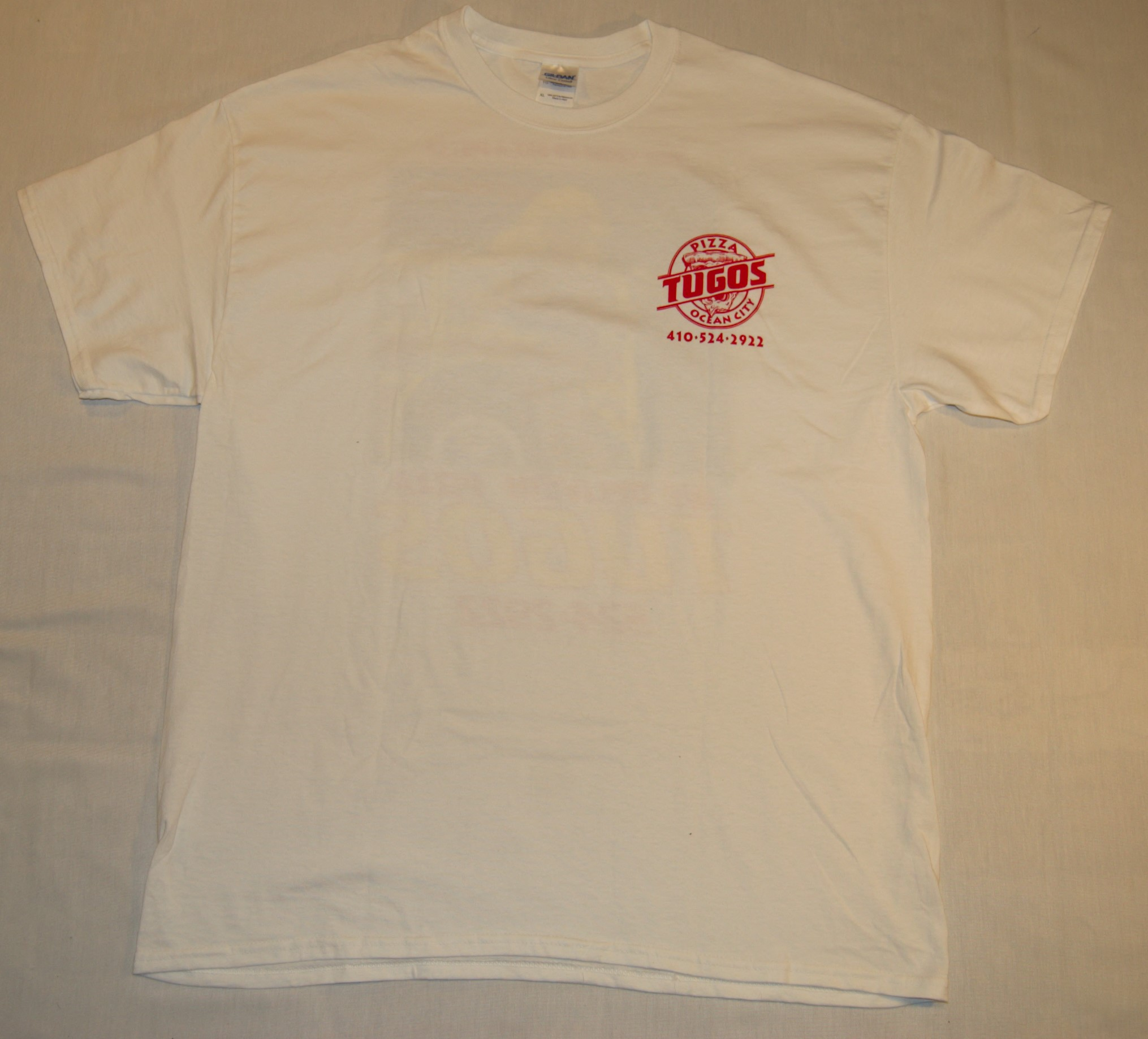 Tugos Delivery Shirt Front